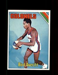 1975 BIRD A VERITT TOPPS #229 COLONELS *6371