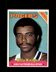 1975 BILLY KNIGHT TOPPS #228 PACERS *6372