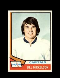 1974 BILL MIKKELSON TOPPS #23 CAPITALS *6163