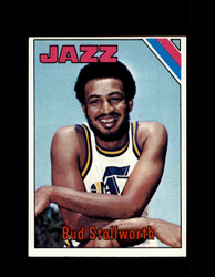 1975 BUD STALLWORTH TOPPS #108 JAZZ *6516