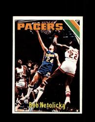 1975 BOB NETOLICKY TOPPS #314 PACERS *9794