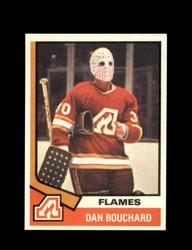 1974 DAN BOUCHARD TOPPS #15 FLAMES *7818