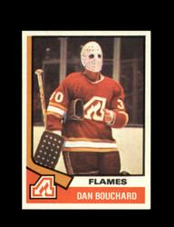 1974 DAN BOUCHARD TOPPS #15 FLAMES *7817