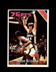 1975 ALLAN BRISTOW TOPPS #74 76ERS *6073