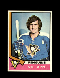 1974 SYL APPS TOPPS #13 PENGUINS *7809