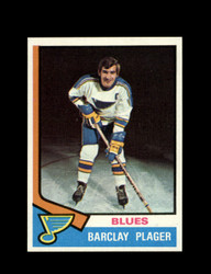 1974 BARCLAY PLAGER TOPPS #87 BLUES *6109