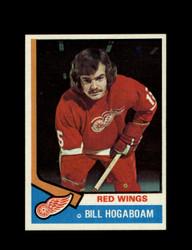 1974 BILL HOGABOAM TOPPS #116 RED WINGS *6114