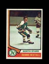 1974 DENNIS HEXTALL TOPPS #115 NORTH STARS *6120
