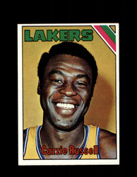 1975 CAZZIE RUSSELL TOPPS #34 LAKERS *6244