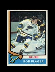 1974 BOB PLAGER TOPPS #107 BLUES *6194