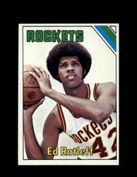1975 ED RATLEFF TOPPS #14 ROCKETS *6086