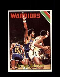1975 GEORGE JOHNSON TOPPS #13 WARRIORS *6085