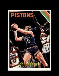 1975 JOHN MENGELT TOPPS #12 PISTONS *6084