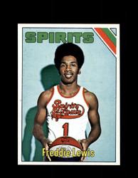 1975 FREDDIE LEWIS TOPPS #275 SPIRITS *6095