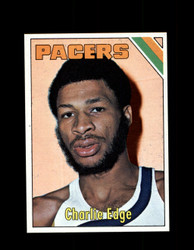 1975 CHARLIE EDGE TOPPS #269 PACERS *6097