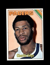 1975 CHARLIE EDGE TOPPS #269 PACERS *6098
