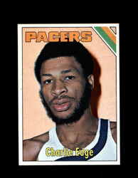 1975 CHARLIE EDGE TOPPS #269 PACERS *6100