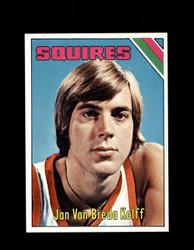 1975 JAN VAN BREDA KOLFF TOPPS #307 SQUIRES *4929
