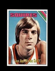 1975 JAN VAN BREDA KOLFF TOPPS #307 SQUIRES *5962