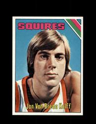1975 JAN VAN BREDA KOLFF TOPPS #307 SQUIRES *3971