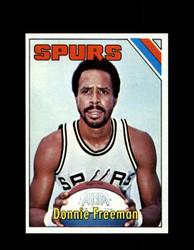 1975 DONNIE FREEMAN TOPPS #263 SPURS *1778