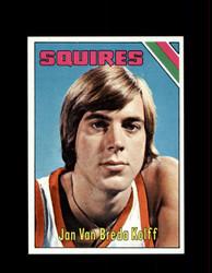 1975 JAN VAN BREDA KOLFF TOPPS #307 SQUIRES *6785