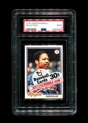 1978 CELLO PACK TOPPS BASEBALL DOCK ELLIS-TOP PSA 9
