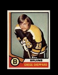 1974 GREG SHEPPARD TOPPS #184 BRUINS *4456