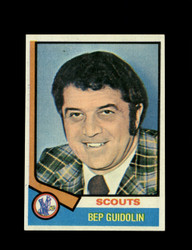 1974 BEP GUIDOLIN TOPPS #34 SCOUTS *4434