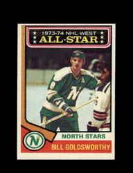 1974 BILL GOLDSWORTHY TOPPS #134 NORTH STARS *5494