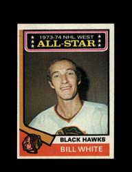1974 BILL WHITE TOPPS #136 BLACK HAWKS *6906