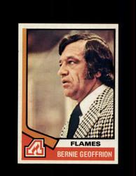 1974 BERNIE GEOFFRION TOPPS #147 FLAMES *7844