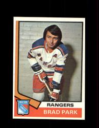 1974 BRAD PARK TOPPS #131 RANGERS *R5013