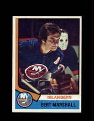 1974 BERT MARSHALL TOPPS #177 ISLANDERS *G5871