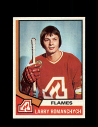 1974 LARRY ROMANCHYCH TOPPS #157 FLAMES *R1606