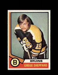1974 GREGG SHEPPARD TOPPS #184 BRUINS *R1863