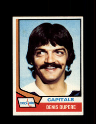 1974 DENIS DUPERE TOPPS #105 CAPITALS *R1726