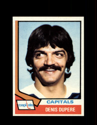 1974 DENIS DUPERE TOPPS #105 CAPITALS *R1756