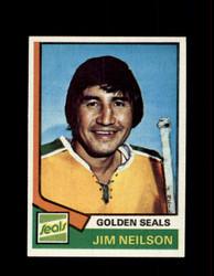 1974 JIM NEILSON TOPPS #109 GOLDEN SEALS *R1611