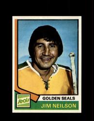 1974 JIM NEILSON TOPPS #109 GOLDEN SEALS *R3389