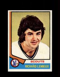 1974 RICHARD LEMIEUX TOPPS #114 SCOUTS *2940