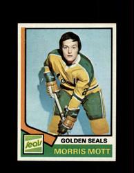 1974 MORRIS MOTT TOPPS #48 GOLDEN SEALS *R5085