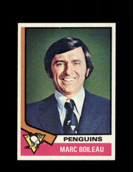 1974 MARC BOILEAU TOPPS #49 PENGUINS *5632