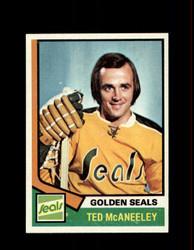 1974 TED MCANEELEY TOPPS #148 GOLDEN SEALS *R3201