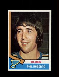 1974 PHIL ROBERTO TOPPS #208 BLUES *R3456