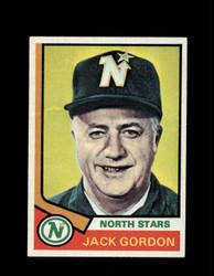 1974 JACK GORDAN TOPPS #238 NORTH STARS *R5795