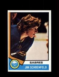 1974 JIM SCHOENFELD TOPPS #121 SABRES *2892