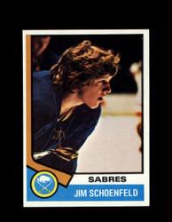1974 JIM SCHOENFELD TOPPS #121 SABRES *R2163