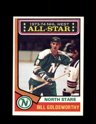 1974 BILL GOLDSWORTHY TOPPS #134 NORTH STARS *R4648