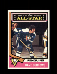 1974 DAVE BURROWS TOPPS #137 PENGUINS *R4649